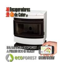 13.5|Ecoforest ECO III Salamandra Pellets – ECO III 12 Kw