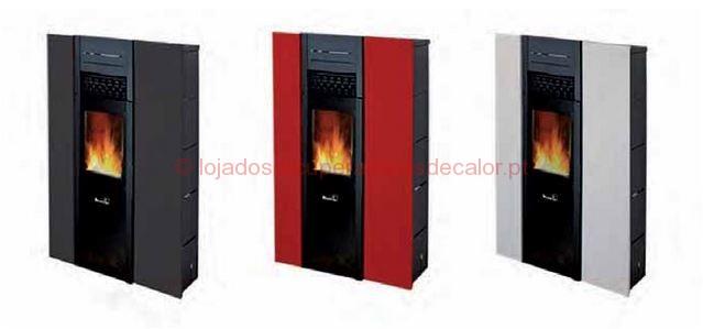 salamandra pellets moretti fire pretty v 9 5 kw. Black Bedroom Furniture Sets. Home Design Ideas