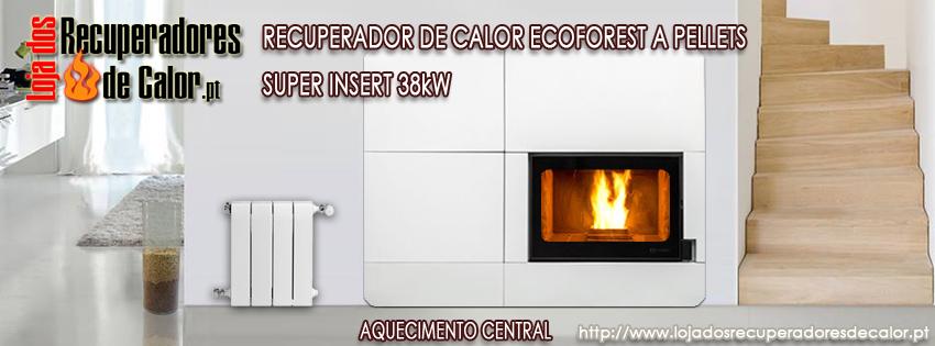 Super Insert Ecoforest Recuperador A Pellets Kw